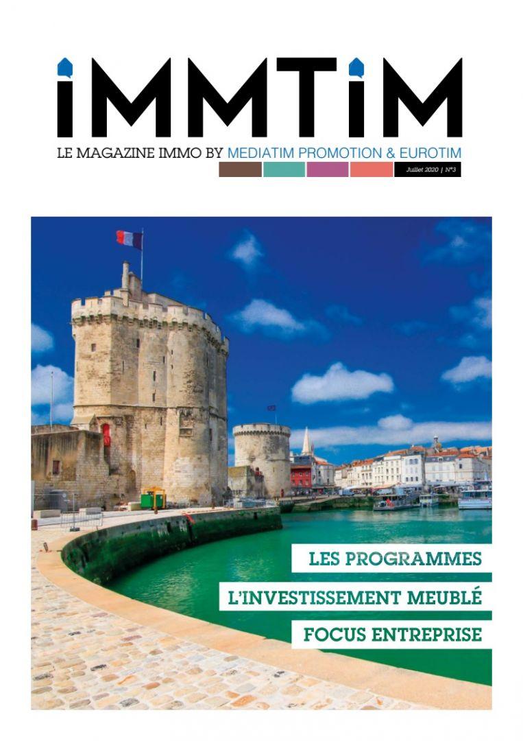 IMMTIM N°3 magazine groupe MEDIATIM PROMOTION EUROTIM LA ROCHELLE