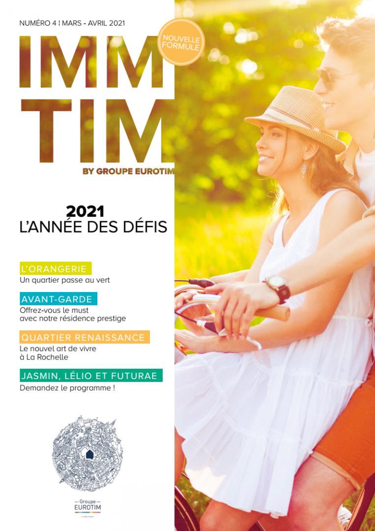 Magazine Groupe EUROTIM IMMTIM N°4 Actualité neuf LA ROCHELLE